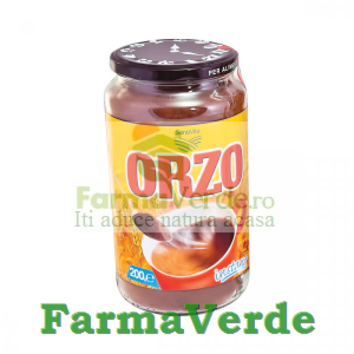Orzo solubil Borcan CRASTAN Inlocuitor 200 gr Sano Vita