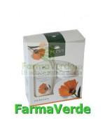 PACHET PROMO Crema Pantenol Nutritiva + Lapte Demachiant