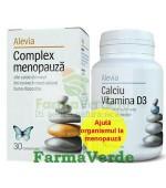 Pachet! Complex Menopauza 30cpr + CalciuD3 40cpr Alevia