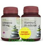 Pachet Imunitate! Echinaceea si Vitamina C Macese Alevia