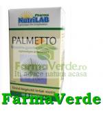 NutriLab Palmetto Palmier Pitic si Ulei Seminte de Dovleac 60cps