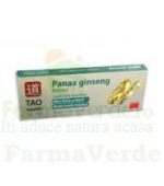 Panax Ginseng Extract Solutie Orala 10 Fiole Tao Health
