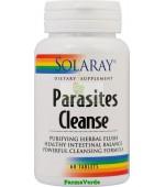 Parasites Cleanse 60 tablete Antiparazitar Solaray Secom