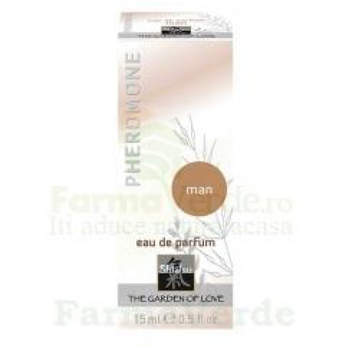 Parfum cu feromoni Shiatsu pentru barbati 15 ml Razmed Pharma