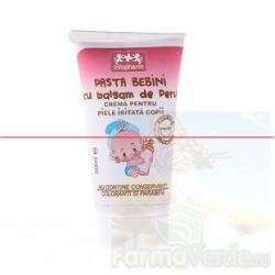 Pasta Bebini cu Balsam de Peru Piele Iritata Copii 50ml Infofarm