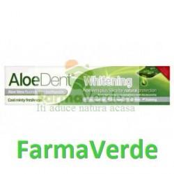 Pasta de Dinti Cu Aloe Vera Si Siliciu Whitening Fara Fluor