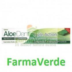 Pasta de Dinti AloeDent Cu Fluor 100 ml Herbavit