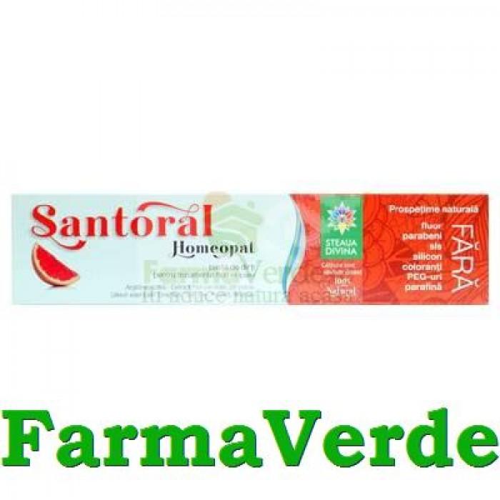 SANTORAL Pasta de dinti HOMEOPAT 75 ml Steaua Divina