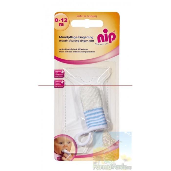 Periuta de dinti antibacteriana cu ioni de argint 0-12 luni Nip