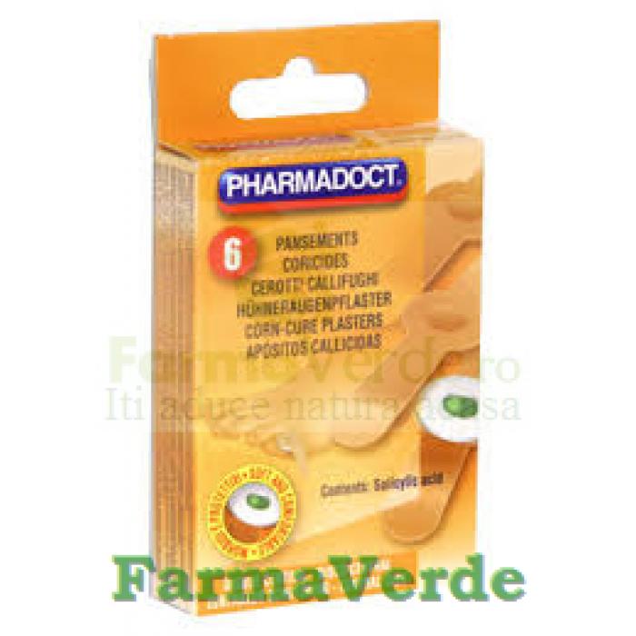 Pharmadoct Plasturi pentru indepartarea bataturilor 8 plasturi