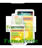 PHARMASEL Seleniu Vitamina C+E 30 cpr Pharmex