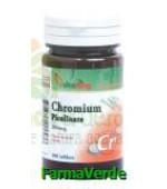 Crom Picolinat  200 mcg 100 comprimate Vitaking