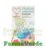 Plasturi Antibacteriali 61X25mm 15buc/cutie Easy Care