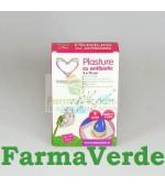 Plasture cu antibiotic 5x10 cm 8 buc/cutie EasyCare