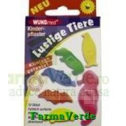 Plasturi pentru copii forma animale 10 bucati Senssitive Concept