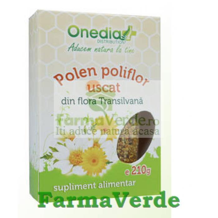 Polen Poliflor Uscat 210 gr Onedia
