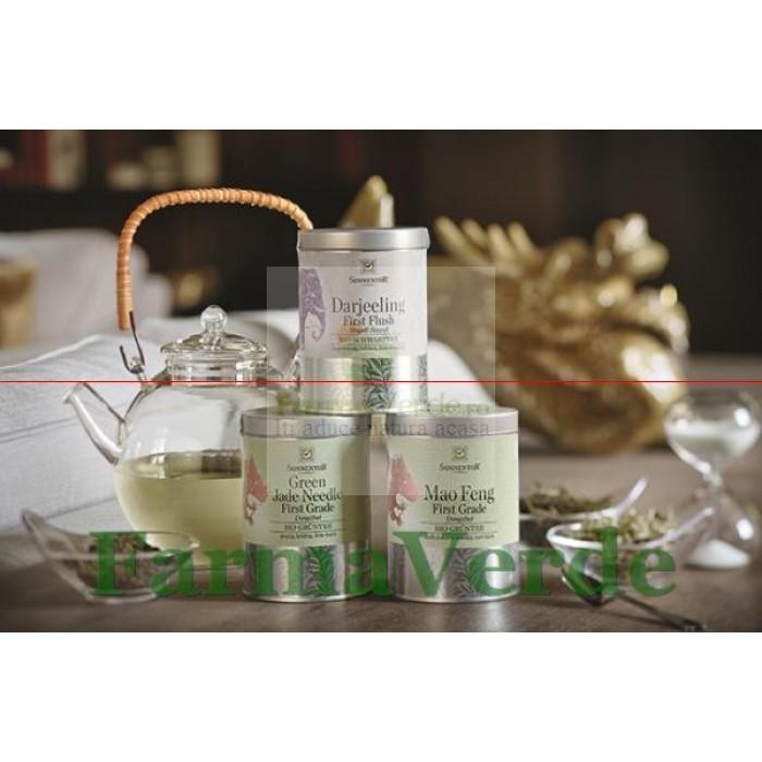 Ceai Premium Ceai Verde Mao Feng Prima Recolta 65 gr Sonnentor