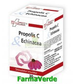 Propolis+Vitamina C+Echinacea 30 cps FarmaClass