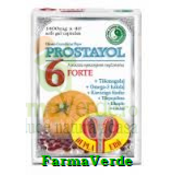 Prostayol 6 Forte 1400 Mg x 40 capsule Mixt Com Dr Chen