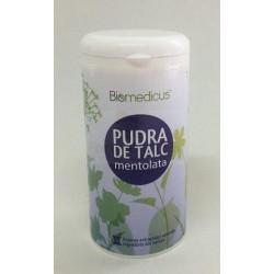BIOMEDICUS PUDRA TALC MENTOLATA 80 gr Trans
