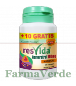 PROMO! Resvida Resveratrol 100 mg 30+10 cpr GRATIS!Cosmopharm