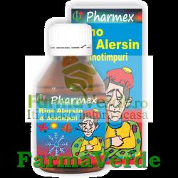 Sirop Rino Alersin Baby Gripa,Viroze Respiratorii 100 ml Pharmex