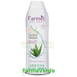 FARMEC NATURAL Sampon hidratant Urzica si Aloe Vera 400 ml