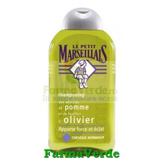 Sampon Par Normal cu Mar si Masline 250 ml LE PETIT MARSEILLAIS