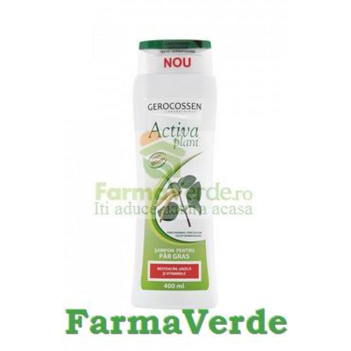 Gerocossen Sampon Activa Mesteacan si Urzica Par Gras 400 ml