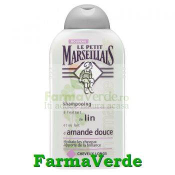 Sampon pentru par normal Le Petit Marseillais Migdale & In 250ml