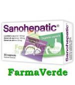 Sanohepatic Hepato-Protector 30 capsule Zdrovit