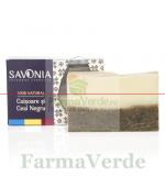 Sapun Natural cu Ceai Negru si Cuisoare 90 gr Savonia