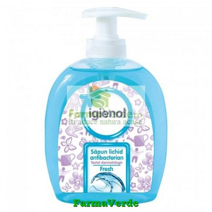 Igienol Sapun Lichid Antibacterian Fresh 300 ml Interstar