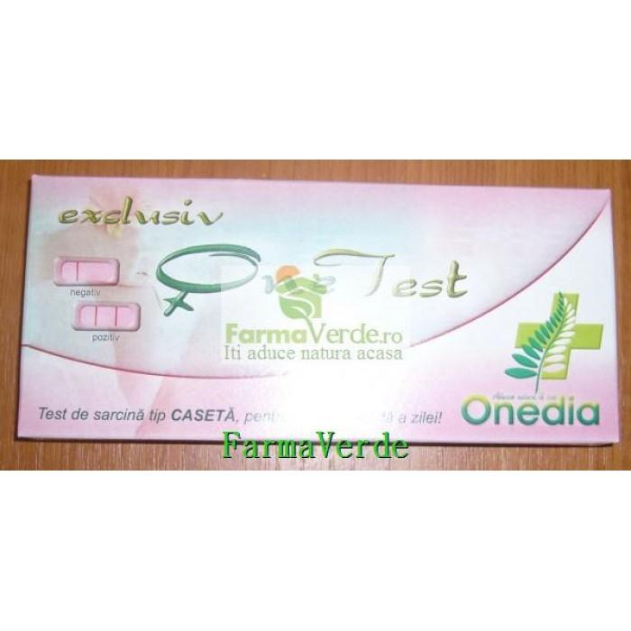 Test Sarcina Caseta OneTest One Cosmetic Onedia
