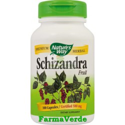 Schizandra Fruct 100 Capsule Nature's Way Secom