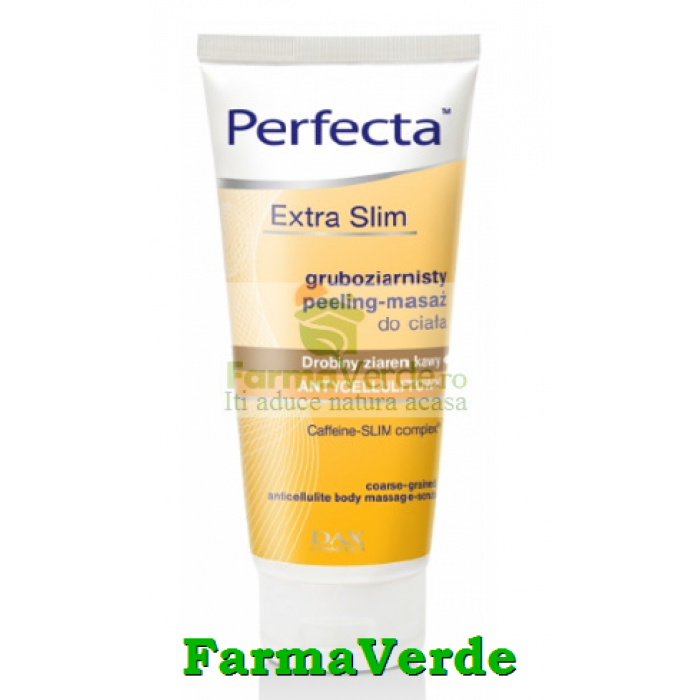 Ser Anticelulitic Scrub cu Cafeina 200 ml Dax Perfecta