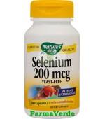 Selenium 200mcg 60 capsule Nature's Way Secom