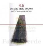 SEMI DI LINO&ARGAN Vopsea de par COLOR CREAM 4.5 mahon brown