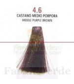 SEMI DI LINO&ARGAN Vopsea de par COLOR CREAM 4.6 middle purple