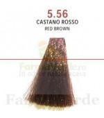 SEMI DI LINO&ARGAN Vopsea de par COLOR CREAM 5.56 red brown