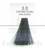 SEMI DI LINO&ARGAN Vopsea de par COLOR CREAM 3.0 dark brown