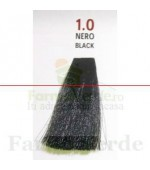 SEMI DI LINO&ARGAN Vopsea de par COLOR CREAM 1.0 black