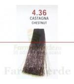 SEMI DI LINO&ARGAN Vopsea de par COLOR CREAM 4.36 chestnut