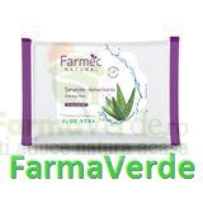 FARMEC NATURAL Servetele Demachiante Aloe Vera