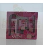 SET CADOU ROSE OF BULGARIA Apa naturala, Sapun, Crema maini