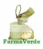 NOU! Set candela + sapun exfoliant alge marine Seaderm