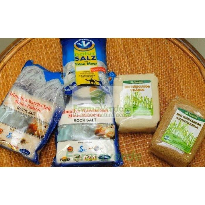 Set Sare Gourmet Himalaya (Sare Clasica+Sare Fina+ Cristalina)