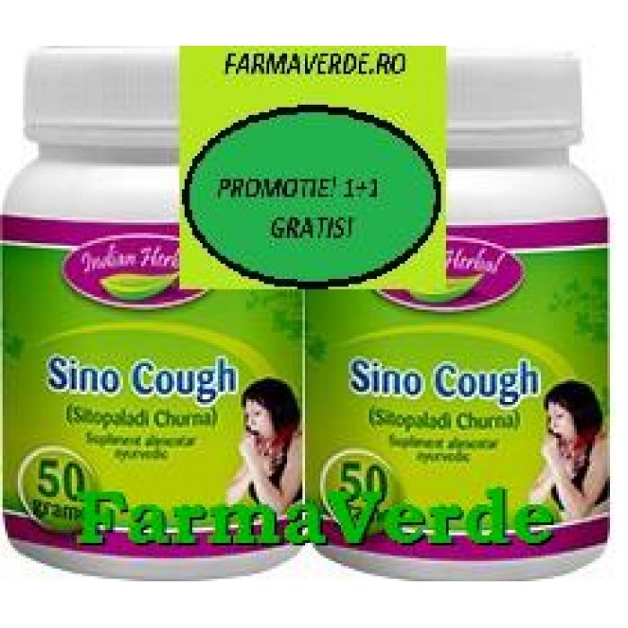 Sino Cough Tuse Pulbere Plante 50gr 1+1 GRATIS! Indian Herbal