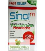 SINOL Spray Nazal Natural Pentru Migrena 15 ml Advanced Pharma