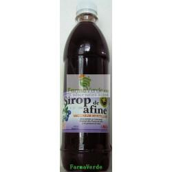 Sirop de Afine 500 ml Hipocrate Omega Pharma